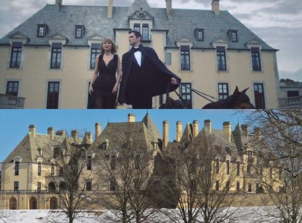 Taylor Swift, Blank Space Video, Oheka Castle