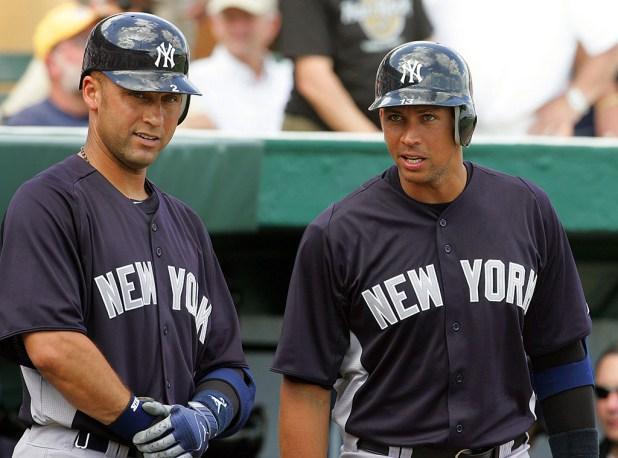 Derek Jeter, Alex Rodriguez