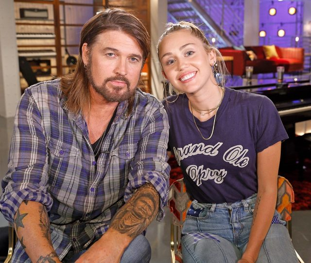 Billy Ray Cyrus Miley Cyrus The Voice