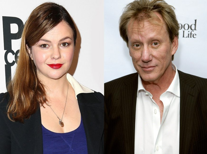 Amber Tamblyn, James Woods