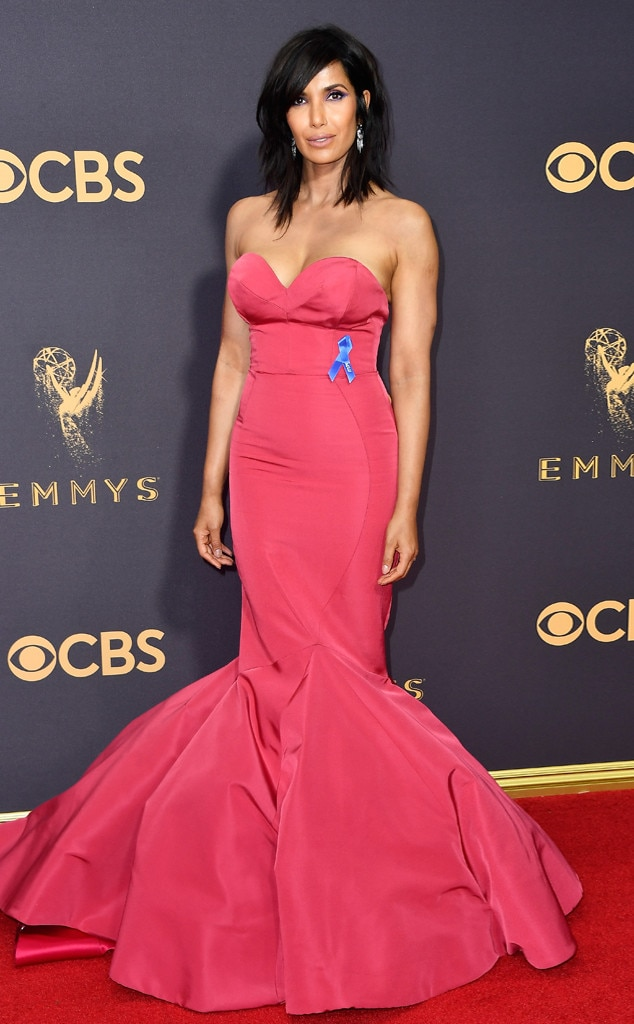 2017 Emmys Red Carpet Arrivals Padma Lakshmi, 2017 Emmy Awards, Arrivals