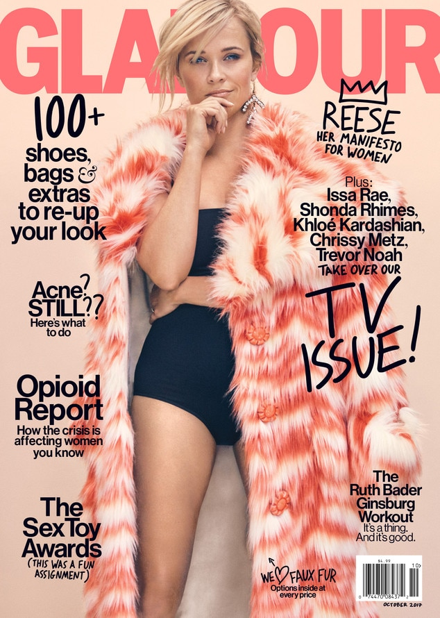 Reese Witherspoon, Glamour Magazine, Embargo until Tuesday 9am EST