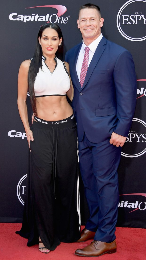 Nikki Bella, John Cena, 2017 ESPY Awards, ESPYS