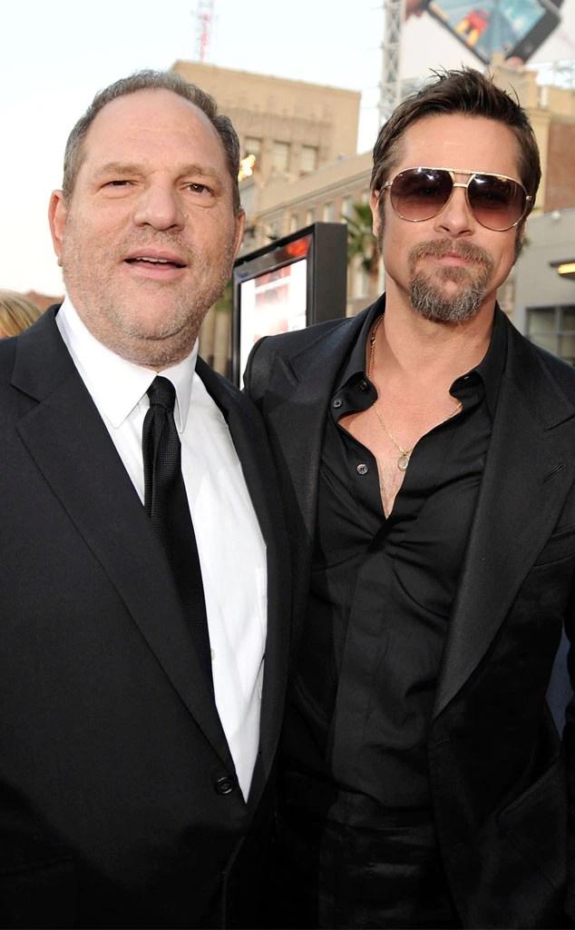 Harvey Weinstein, Brad Pitt