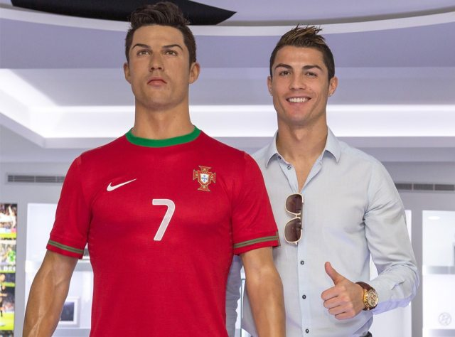 Cristiano Ronaldo, CR7 museum, wax statue
