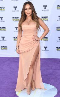 Adrienne Bailon from Latin American Music Awards 2017: Red