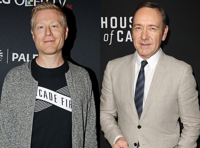 Image result for Kevin Spacey and anthony rapp