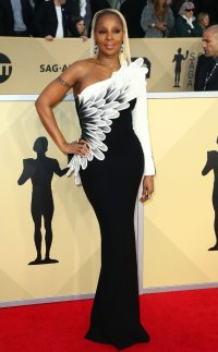 Mary J. Blige from 2018 SAG Awards Red Carpet Fashion | E ...