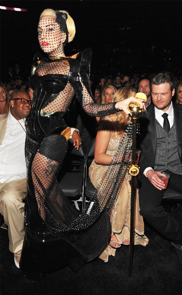 Lady Gaga Grammys 2011 : grammys, Gaga's, Unpredictable, Unforgettable, Grammy, Award, Looks, Online