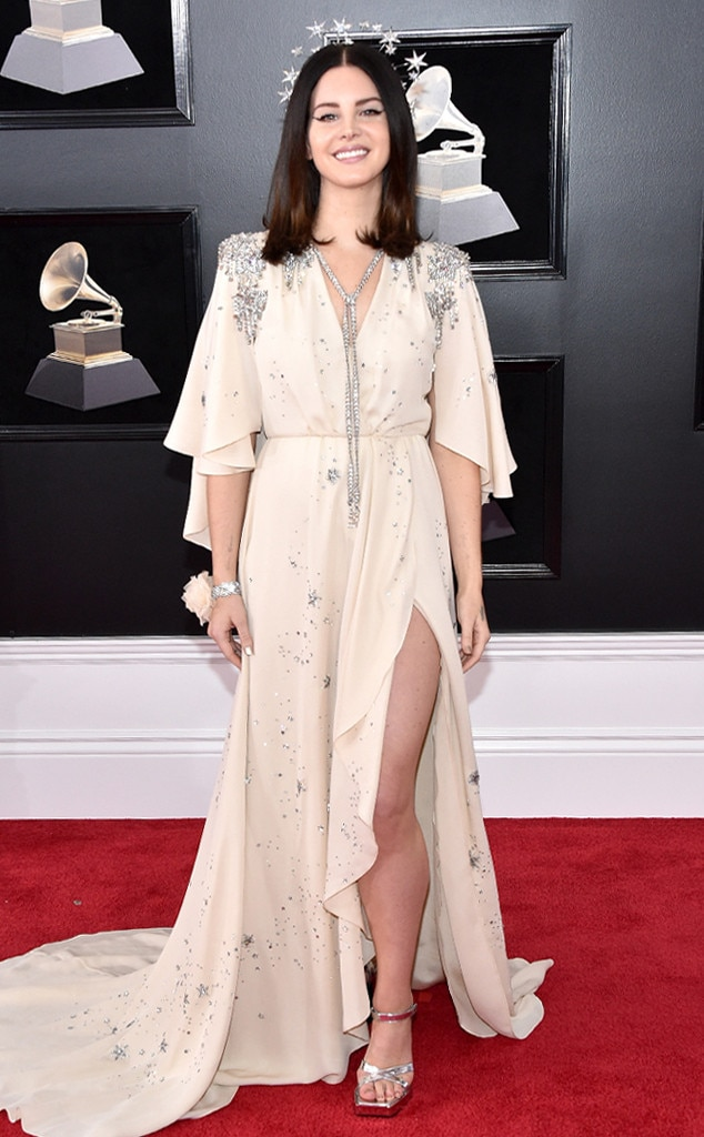 Lana Del Rey, 2018 Grammy Awards, Red Carpet Fashions