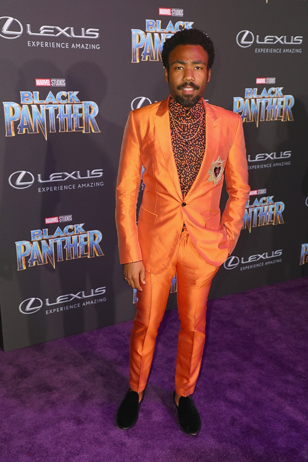 Donald Glover, Black Panther Premiere