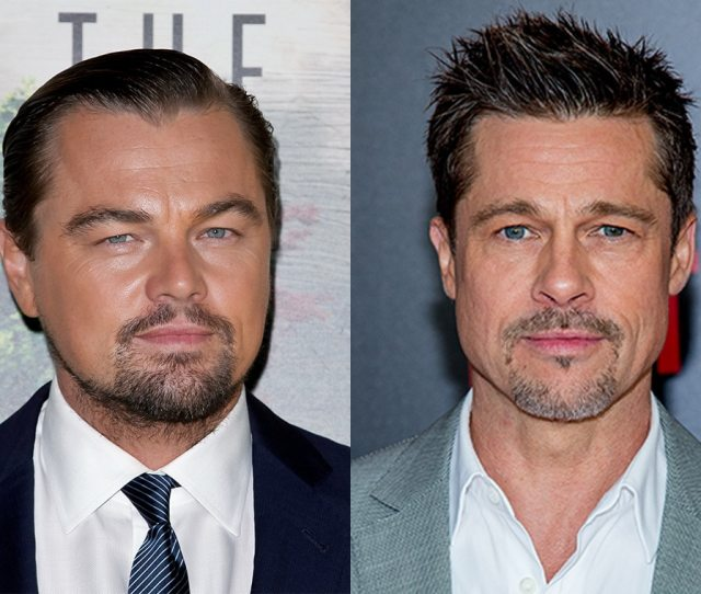 Brad Pitt And Leonardo Dicaprio Are A California Dream In Once Upon A Time In Hollywoods Poster