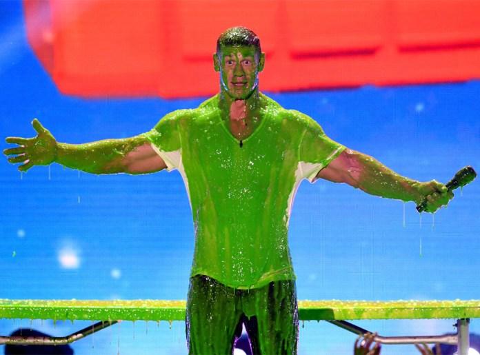 John Cena, Nickelodeon Kids' Choice Awards 2018, Slimed
