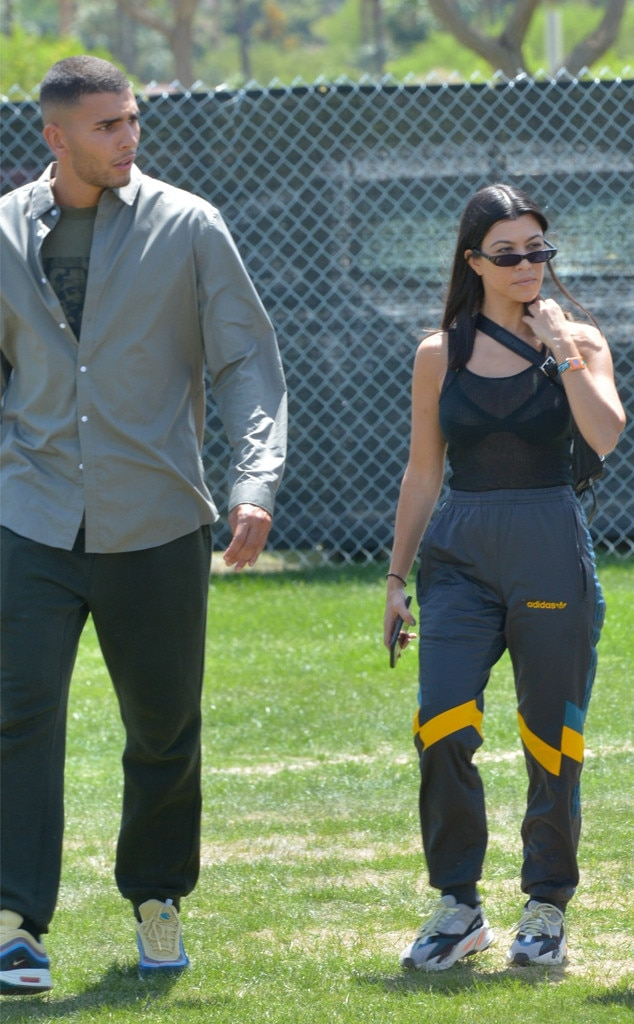 Kourtney Kardashian, Younes Bendjima, Coachella 2018