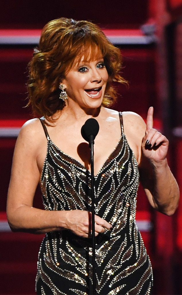Reba McEntire, Academy of Country Music Awards 2018, demonstrate