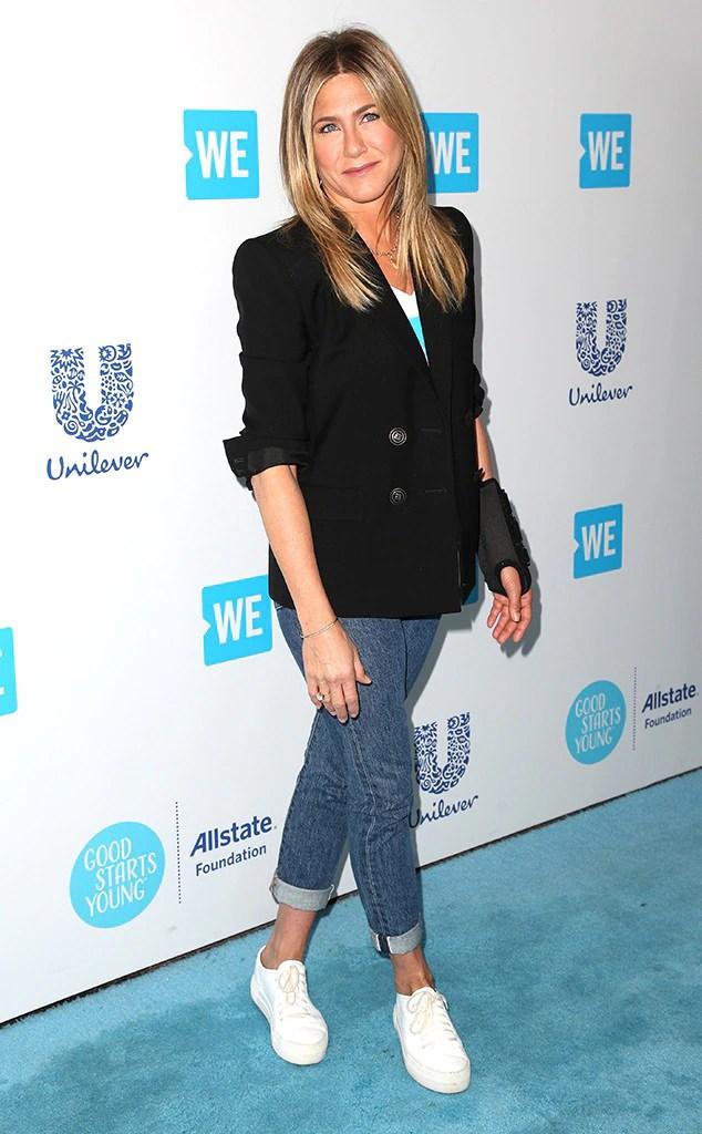 Jennifer Aniston, WE Day