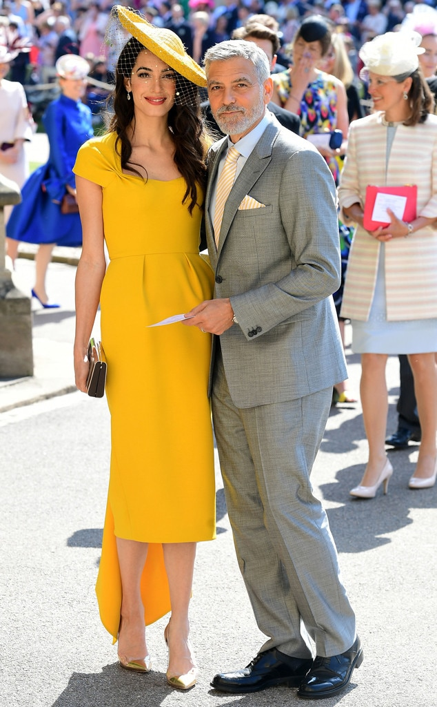 Image result for amal clooney royal wedding