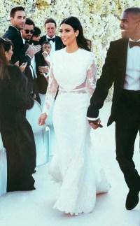 Kim Kardashian from Stars' Most Unforgettable Wedding ...