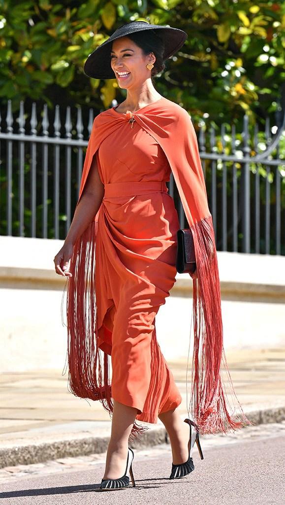 Janina Gavankar, Royal Wedding, Arrivals