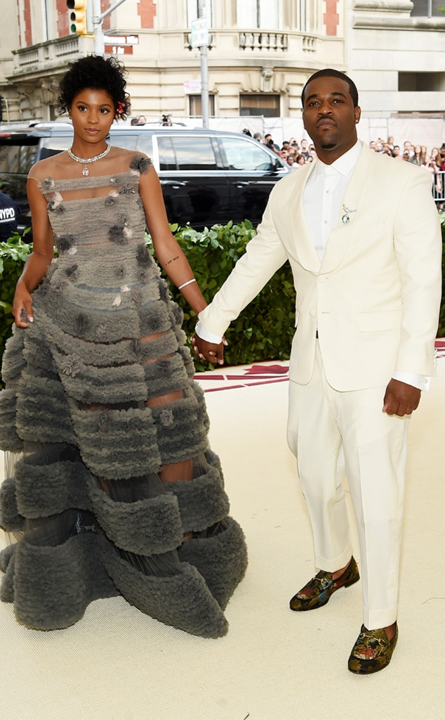A$AP FERG & RENELL MEDRANO-Couples at the 2018 met gala awards