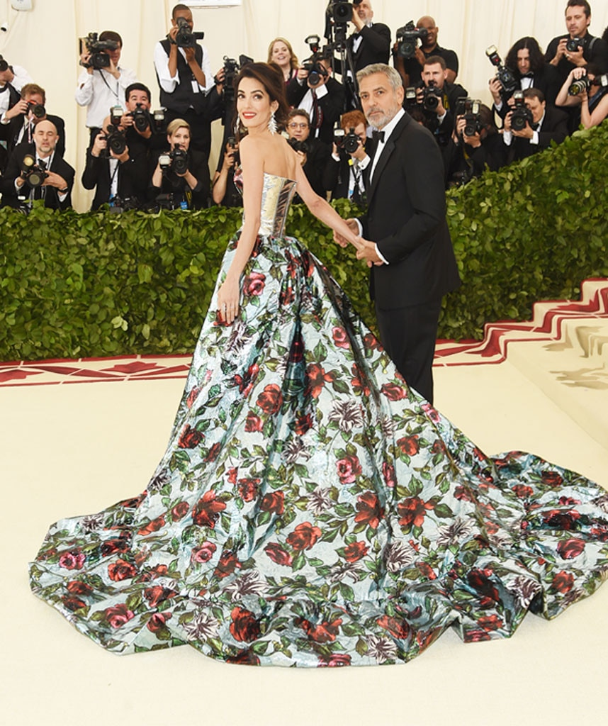 GEORGE & AMAL CLOONEY- Couples at the 2018 met gala awards