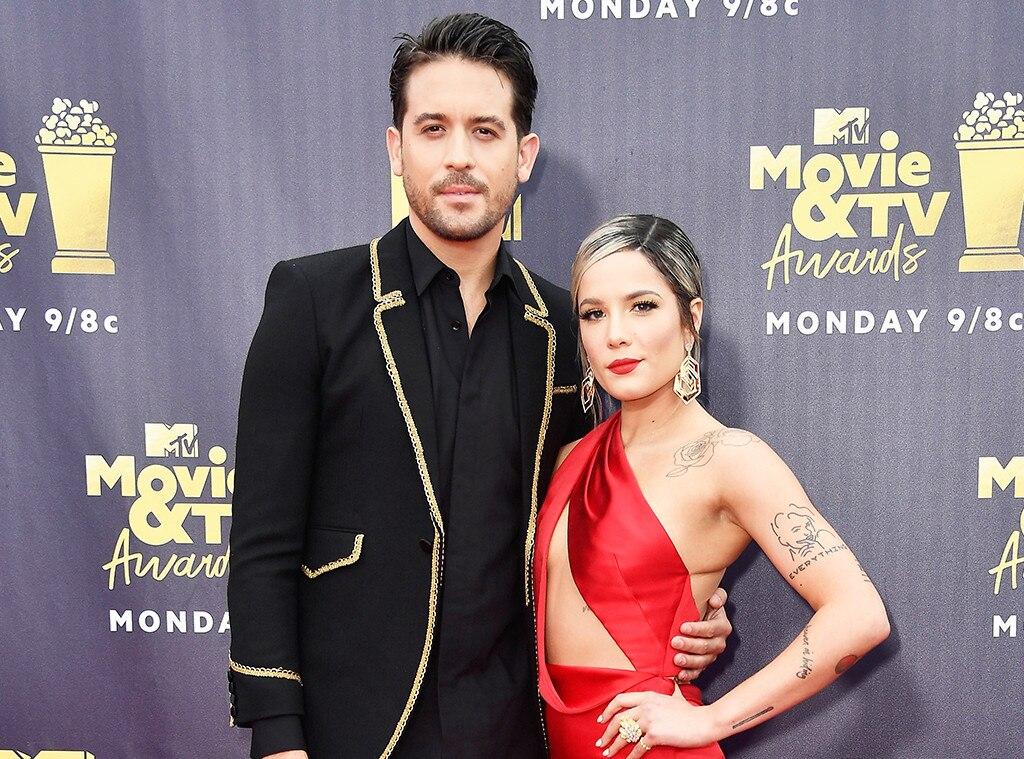 G-Eazy, Halsey, 2018 MTV Movie & TV Awards, Arrivals