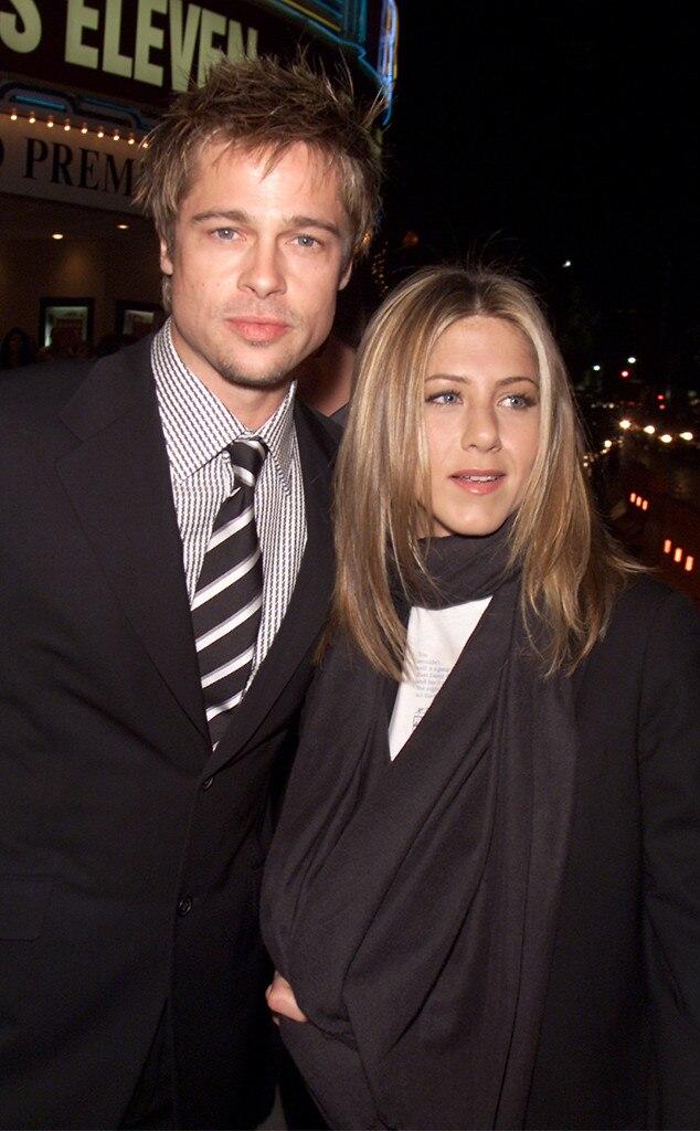Brad Pitt, Jennifer Aniston, Ocean's Eleven Premiere, 2001