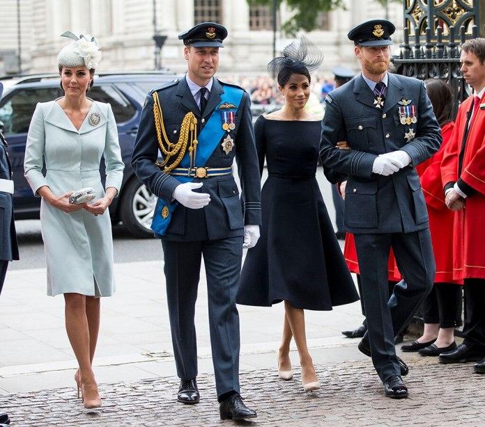 Kate Middleton, Prince William, Meghan Markle, Prince Harry