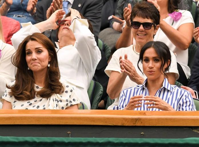 Kate Middleton, Meghan Markle, Wimbledon 2018