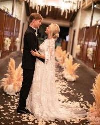 Kaley Cuoco's Wedding Dress Took 400 Hours to Make: All ...