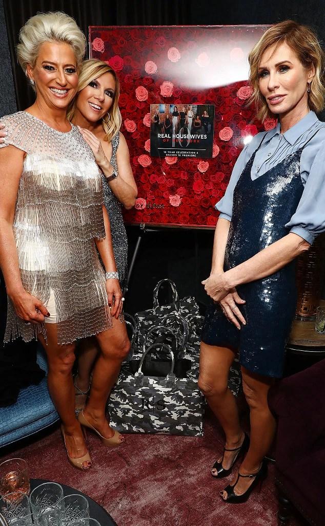 ESC: Dorinda Medley, Ramona Singer and Carole Radziwil