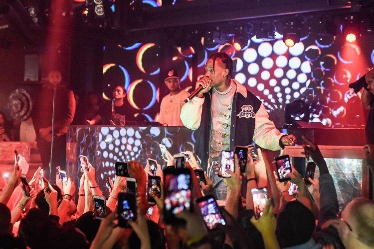 Travis Scott, Marquee Nightclub, Las Vegas