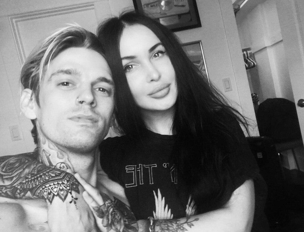 Image Result For Aaron Carter Professes Love For New Girlfriend Lina Valentina On Instagramsharetumblr