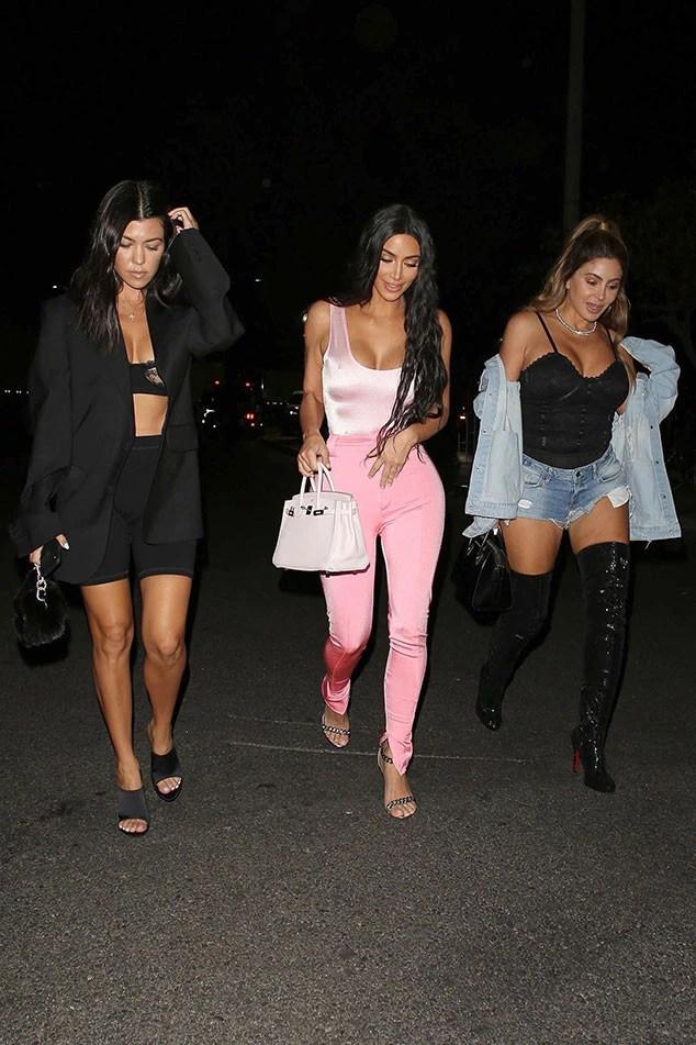 Kim Kardashian, Kourtney Kardashian, Larsa Pippen, OTR II Concert