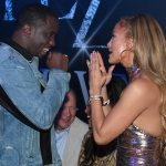 Jennifer Lopez gives Diddy a shout out in front of boyfriend Alex Rodriguez