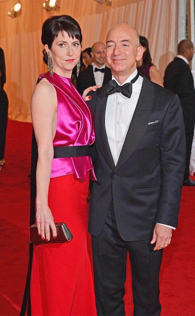 Jeff Bezos, Mackenzie Bezos, 2012 MET Gala