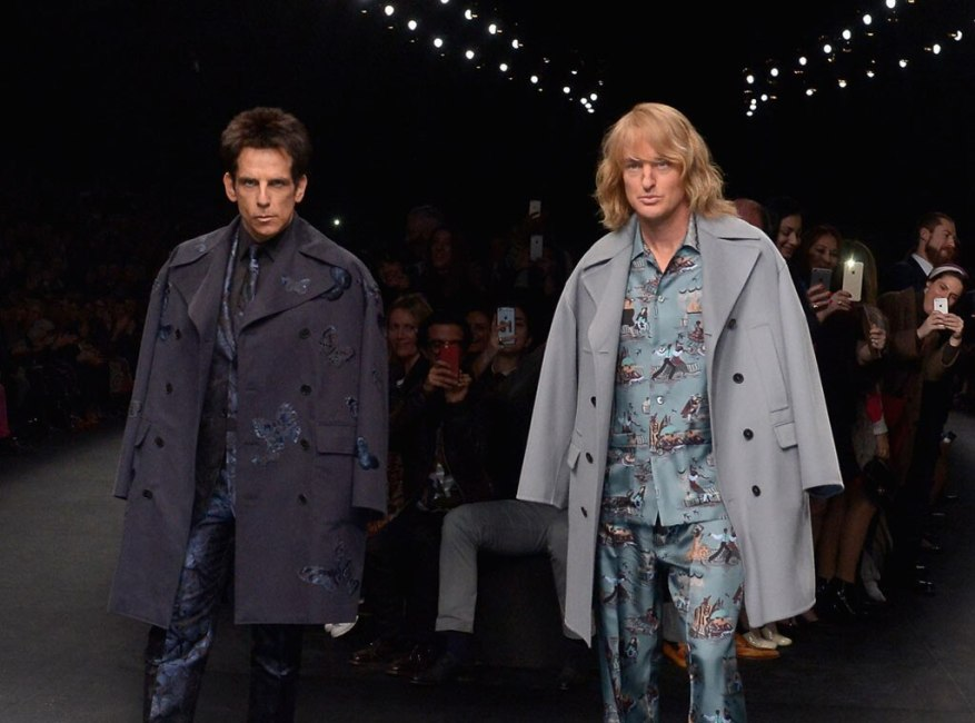Ben Stiller, Owen Wilson, Chanel Fashion Show
