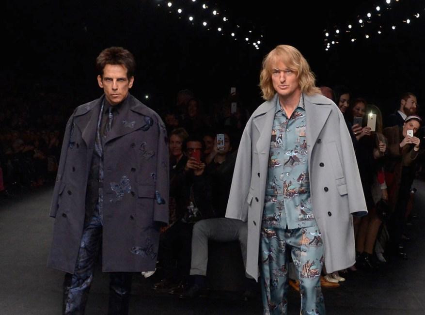 Ben Stiller, Owen Wilson, Chanel Fashion Show
