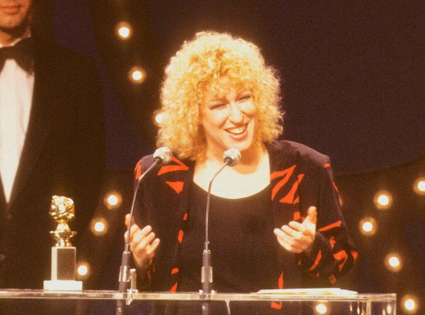 Bette Midler, Golden Globes 1980