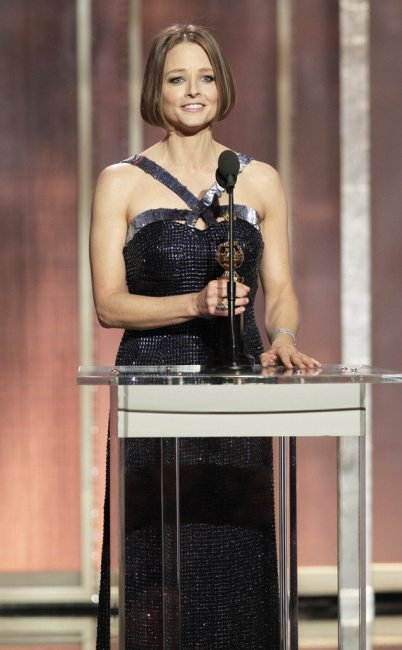 Jodie Foster, 70th Annual Golden Globe Awards - Show