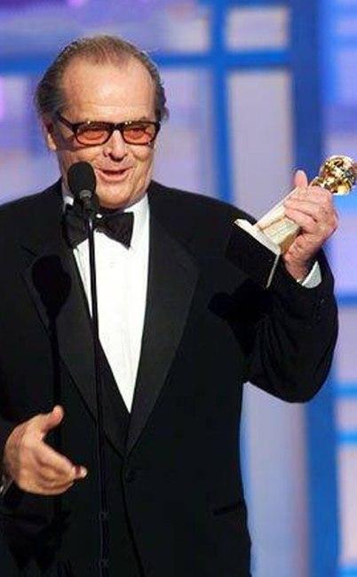 Jack Nicholson, Golden Globes, 2003