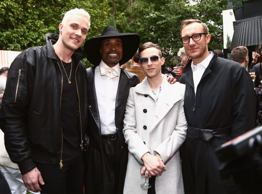 Jussi-Pekka Kajaala, Billy Porter, Adam Rippon, Adam Smith, Gold Meets Golden 2019