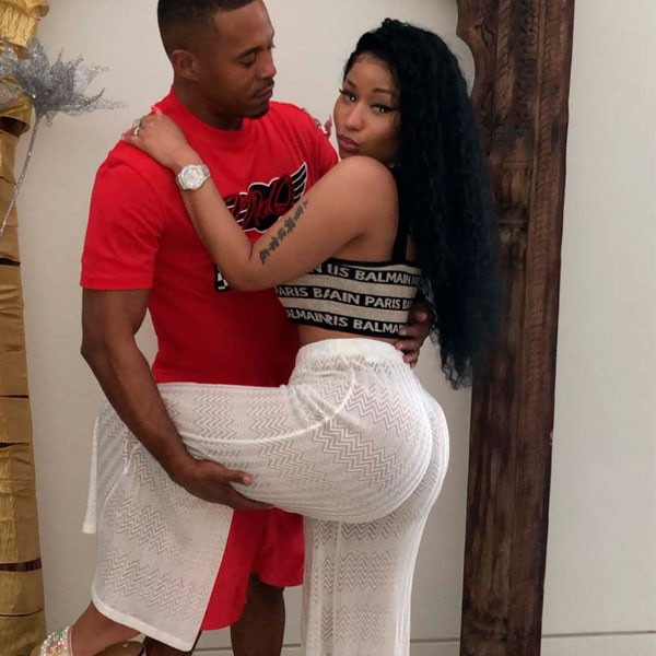 "Nicki Minaj Calls Boyfriend Kenneth Petty Her ""Husband"" - E! Online"