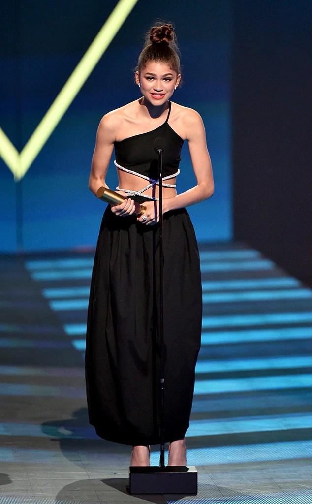 Zendaya, 2019 Peoples Choice Awards, 2019 PCAs, Winners