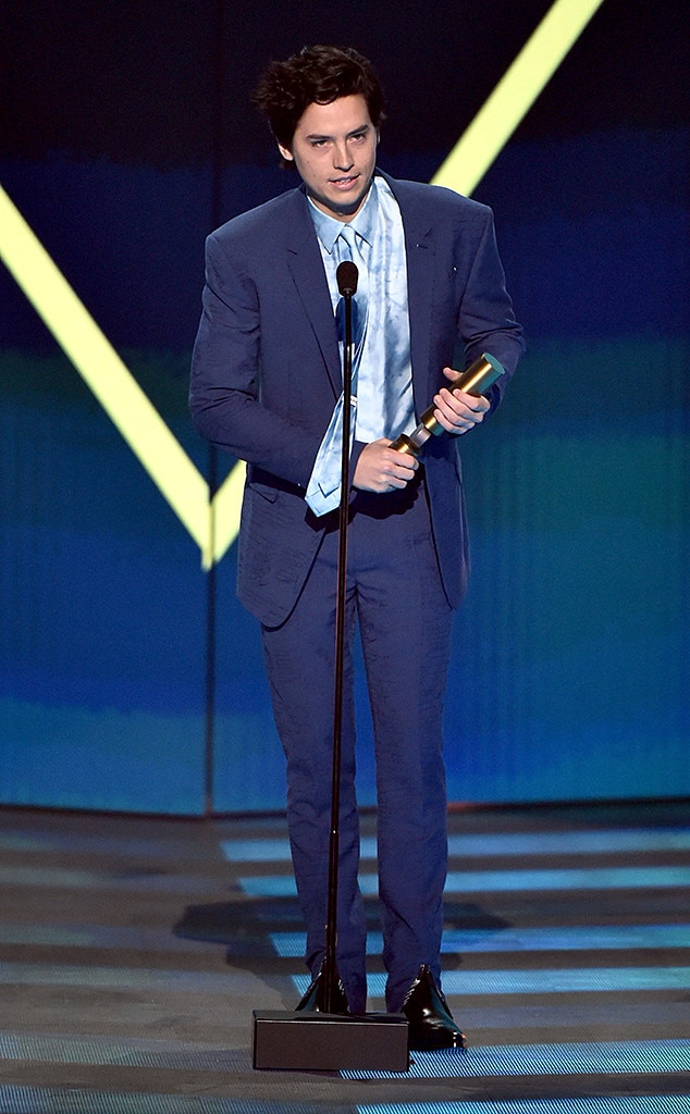 Cole Sprouse, 2019 Peoples Choice Awards, 2019 PCAs, Winners