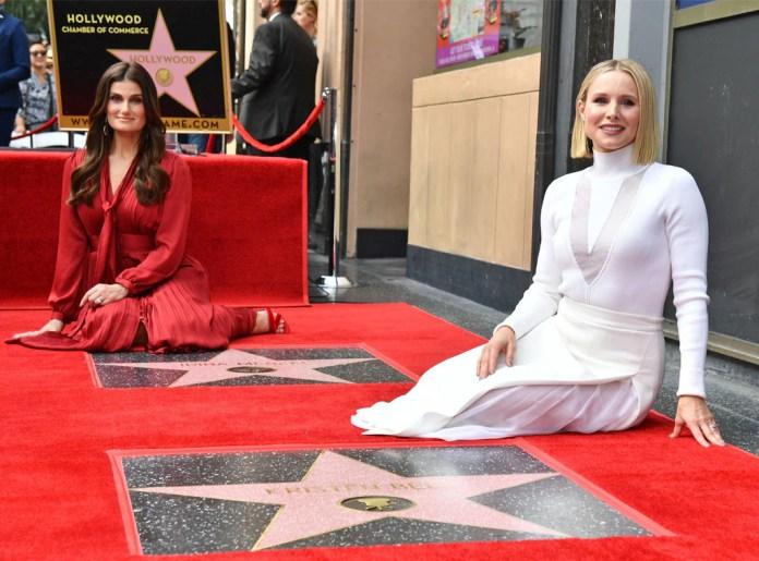 Kristen Bell, Idina Menzel, Hollywood Walk of Fame