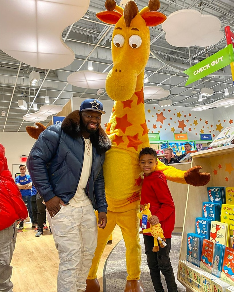 50 Cent Rents Out Whole Toys R Us For Son Before