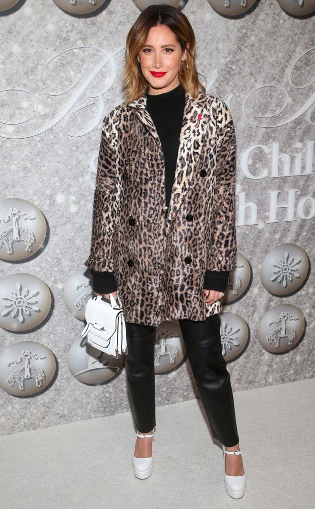 Ashley Tisdale, Fashion Police Widget