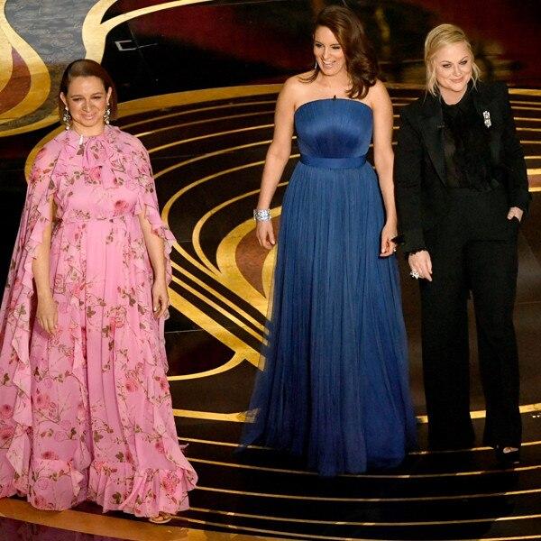 Tina Fey Amy Poehler And Maya Rudolph Reunite At The