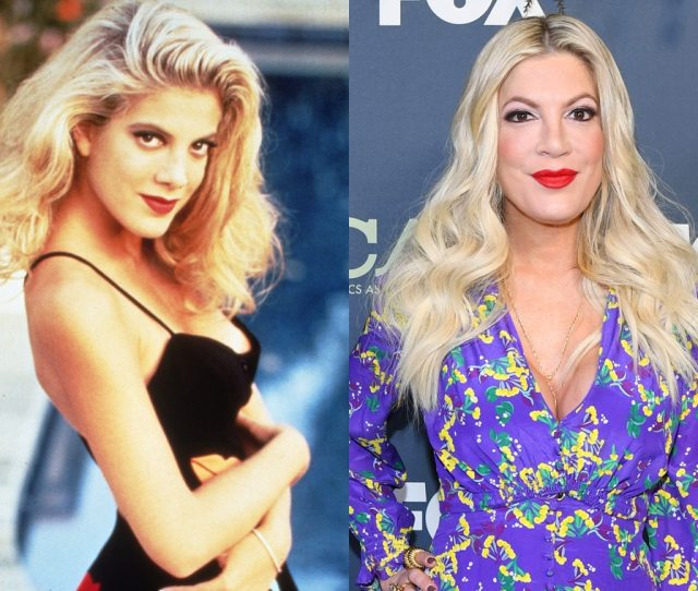 90210 Is Getting A Revival Series See The Og Cast Then And Now  C2 B7 Tori Spelling
